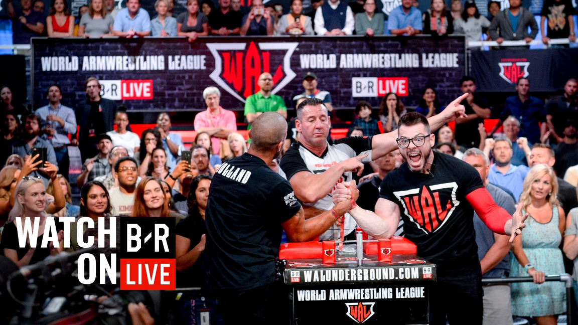 World Armwrestling League | Events